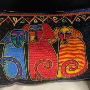 Laurel Burch Colorful Shoulder Bag * Dogs